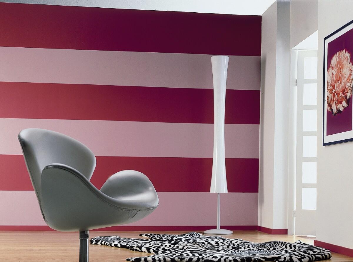Покраска стен на даче в два цвета дизайн